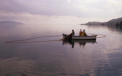 Pescatori con reti